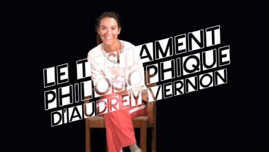 Photo of Le testament philosophique d'Audrey Vernon